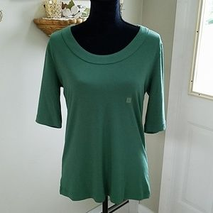 NEW, Green top, short sleeves